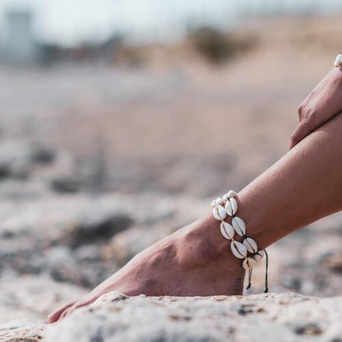 Bracelet de cheville Seashell