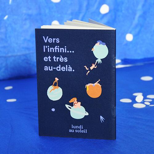 Carnet de voyage – Vers l'infini… et très au delà