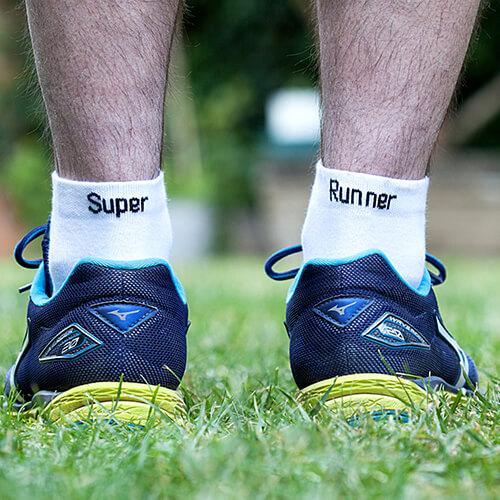 """Chaussettes """"Super Runner"""""""