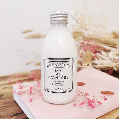 Bain moussant au lait d'ânesse Bio - 250 ml