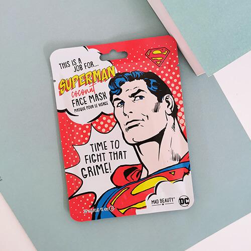 Masque visage Superman