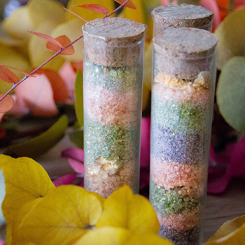 Potion de bain licorne - sel de bain